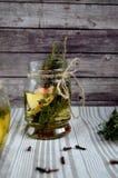 Höstlig växt- drink Arkivfoto