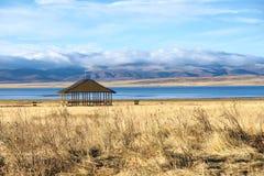 Höstligt höglands- landskap royaltyfria foton