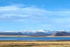 Höstligt höglands- landskap arkivfoto