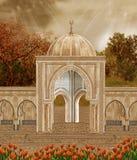 höstligt landskap 2 vektor illustrationer