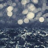 Höstligt regn Royaltyfria Bilder
