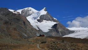 Höstplats i Zermatt royaltyfri fotografi