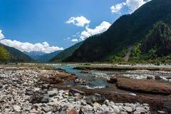 Höstsäsong i Linzhi, Tibet Arkivbild