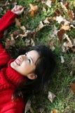 höstskönhetserie Fotografering för Bildbyråer