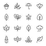 Höstsymbol och objekt Fotografering för Bildbyråer