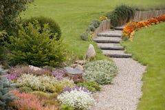 höstträdgård Arkivfoto
