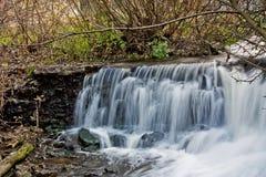 höstvattenfall Fotografering för Bildbyråer