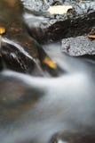 Höstvattenström Fotografering för Bildbyråer