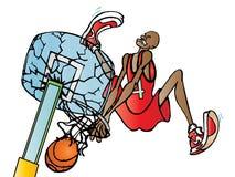 Húmido de Slam ilustração royalty free