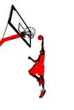 Húmido do Slam do basquetebol ilustração stock