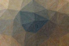Hübsche abstrakte Illustration brauner Impressionist Impasto-Farbe Schöner Hintergrund für Ihre Arbeit stock abbildung