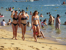 Hübsche Acapulco-Frauen Lizenzfreie Stockbilder