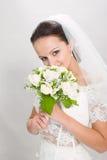Hübsche Braut. Lizenzfreies Stockfoto