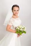 Hübsche Braut. Stockfoto