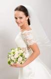 Hübsche Braut. Stockfotografie