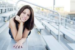 Hübsche Frau stockfotos