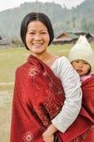 Hübsche Frau in Arunachal Pradesh Lizenzfreies Stockbild