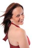 Hübsche Frau in ihren Vierzigern Lizenzfreie Stockfotografie