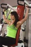 Hübsche Frauen in der Gymnastik Lizenzfreies Stockbild