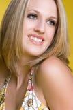 Hübsche Frauen-Nahaufnahme Lizenzfreies Stockfoto