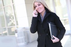 Hübsche Geschäftsfrau Lizenzfreie Stockbilder
