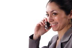 Hübsche Latino-Geschäftsfrau Lizenzfreies Stockfoto