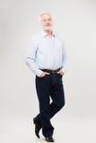 Hübscher, älterer Mann Lizenzfreie Stockbilder