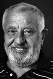 Hübscher alter Mann lächelnde 2 Lizenzfreie Stockfotografie