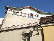 Hübscher Balkon Lizenzfreies Stockbild