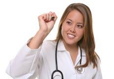 Hübscher Frauen-Doktor Lizenzfreie Stockbilder