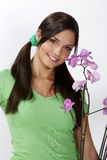 Hübscher Gärtner lizenzfreie stockbilder
