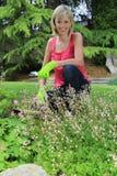 Hübscher Gärtner stockfoto