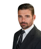 Hübscher italienischer Mann Lizenzfreie Stockbilder