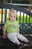 Hübscher Junge Mummys Lizenzfreie Stockfotos