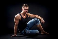 Hübscher junger Mann Lizenzfreie Stockbilder