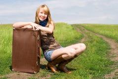 Hübscher Reisender    Lizenzfreie Stockfotos