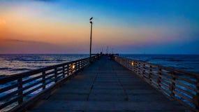 Hübscher Sonnenaufgang Lizenzfreie Stockfotos