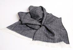 Hübscher Tweedmusterschal Stockbild