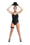 Hübscher weiblicher Tänzer Lizenzfreie Stockbilder