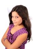 Hübsches acht Einjahresmädchen Lizenzfreies Stockbild