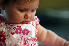 Hübsches Baby Stockbild