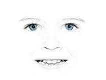 Hübsches Gesicht des Kindes Stockbild