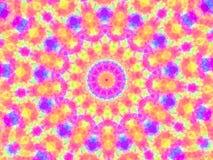Hübsches Kaleidoskop stock abbildung