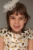Hübsches lächelndes Mädchen 4years Lizenzfreie Stockfotos