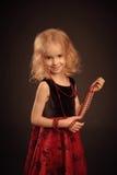Hübsches lächelndes Mädchenporträt Lizenzfreies Stockfoto