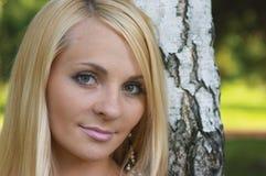 Hübsches Mädchen. Stockbilder