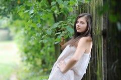 Hübsches Mädchen Stockfotos