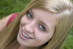 Hübsches Mädchen stockfoto