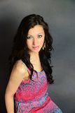 Hübsches Mädchen, das II aufwirft Lizenzfreie Stockfotos