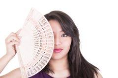 Hübsches Mädchen, das sich auflockert Lizenzfreie Stockfotografie